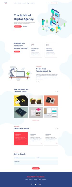 Doob - Simple Agency Template