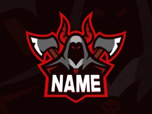 Reaper Gaming Clan Mascot Logo