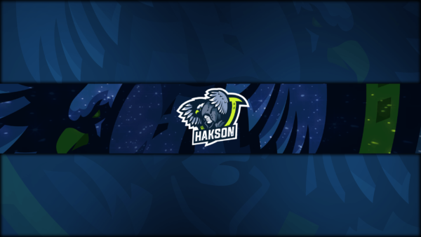 Eagle Gaming Clan Mascot Banner