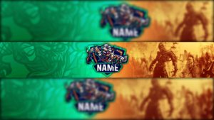 Mummy Gaming Clan Mascot Banner