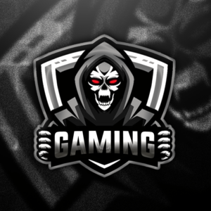 Skull Gaming Clan Mascot Avatar