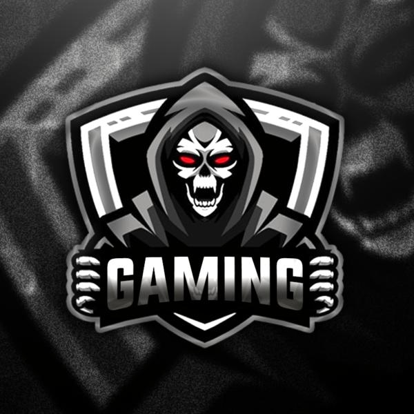 Skull Gaming Clan Mascot Avatar