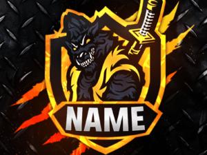 Wolf Gaming Clan Mascot Avatar