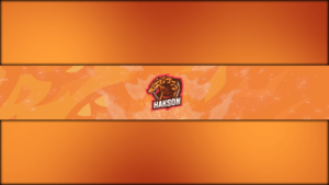 Dragon Gaming Clan Mascot Banner