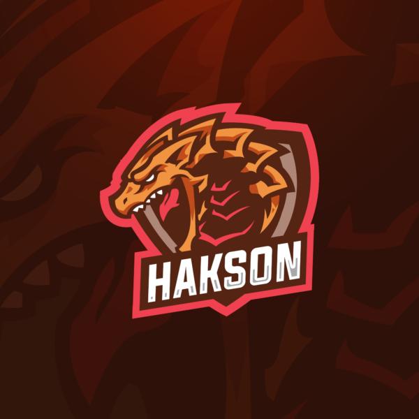 Dragon Gaming Clan Mascot Logo