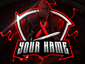 Warrior Gaming Clan Mascot Logo