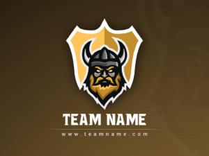 Viking Esports Clan Logo Design | Free PSD