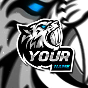 Tiger Gaming Clan Mascot Avatar