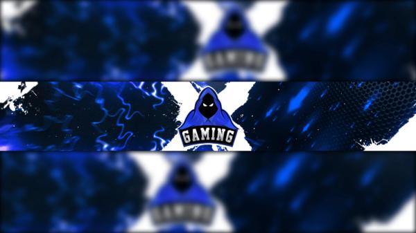 Raven Gaming Clan Mascot Banner