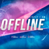 Stream Overlay - Blue and Pink