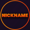 Stream Overlay - Orange and Purple